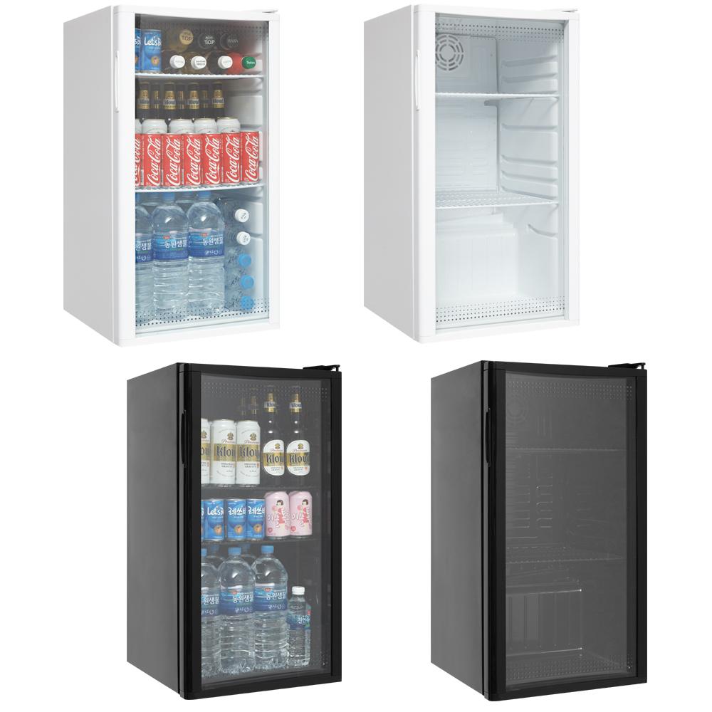 씽씽코리아 음료수냉장고 냉장쇼케이스 소형냉장고 미니냉장고 SD-92 화이트, SD-92(화이트)