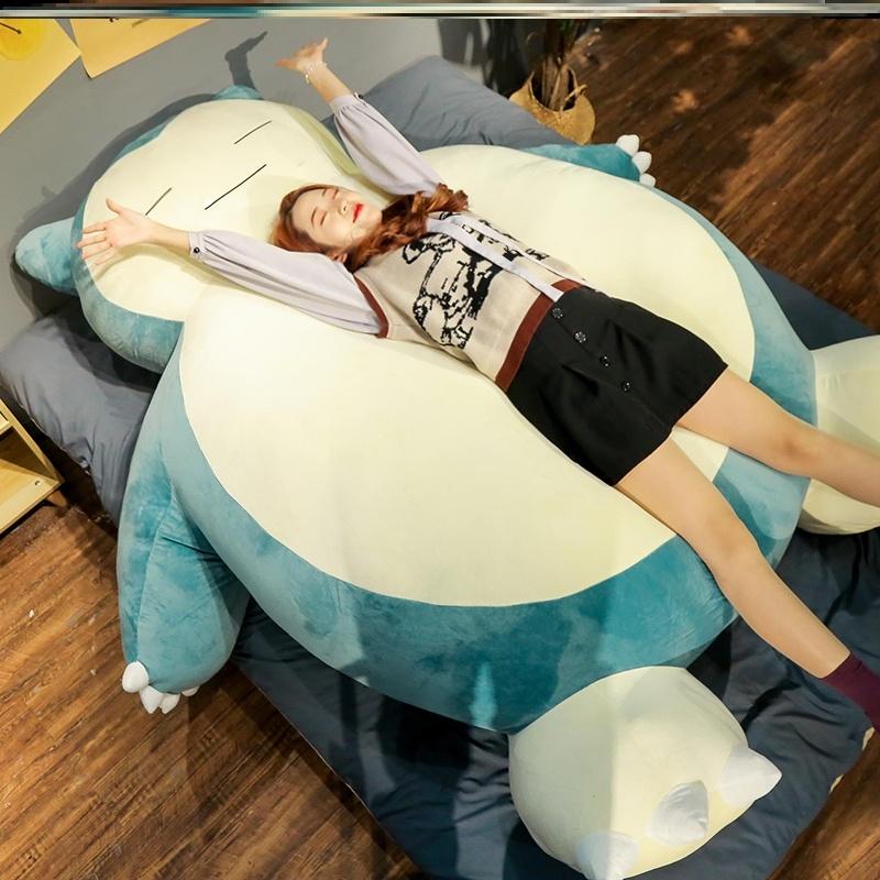 잠만보대형침대인형 개학연기선물 50cm 80cm 110cm 150cm, 로얄 블루, 30cmcm