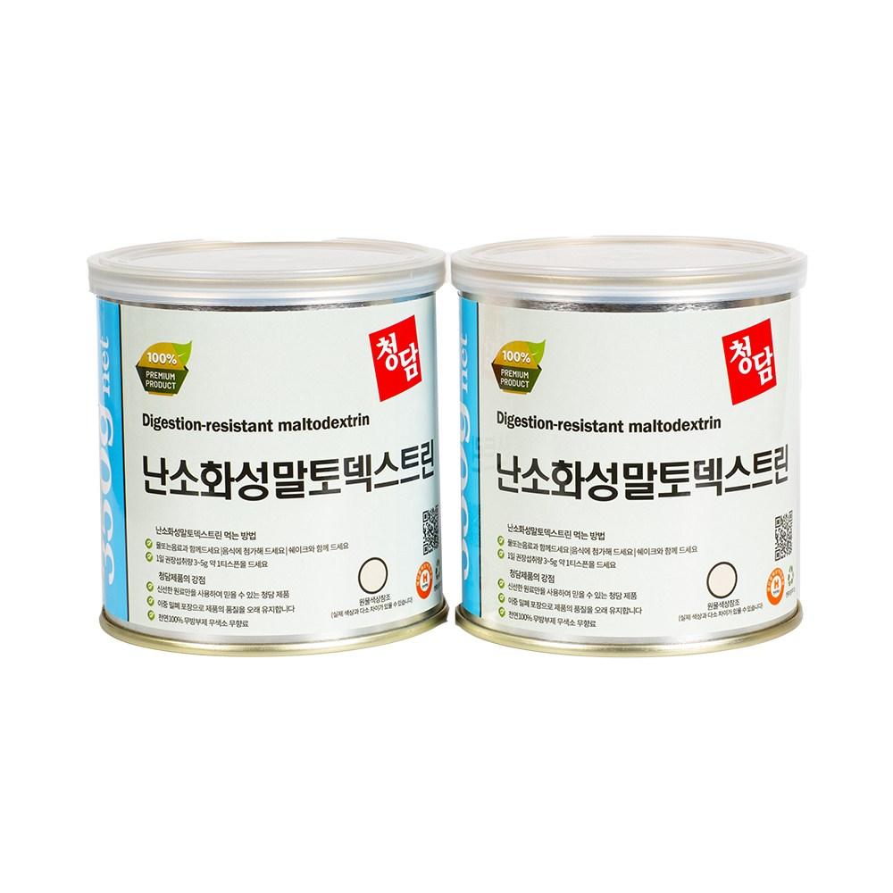 청담 난소화성말토덱스트린 350g, 2통