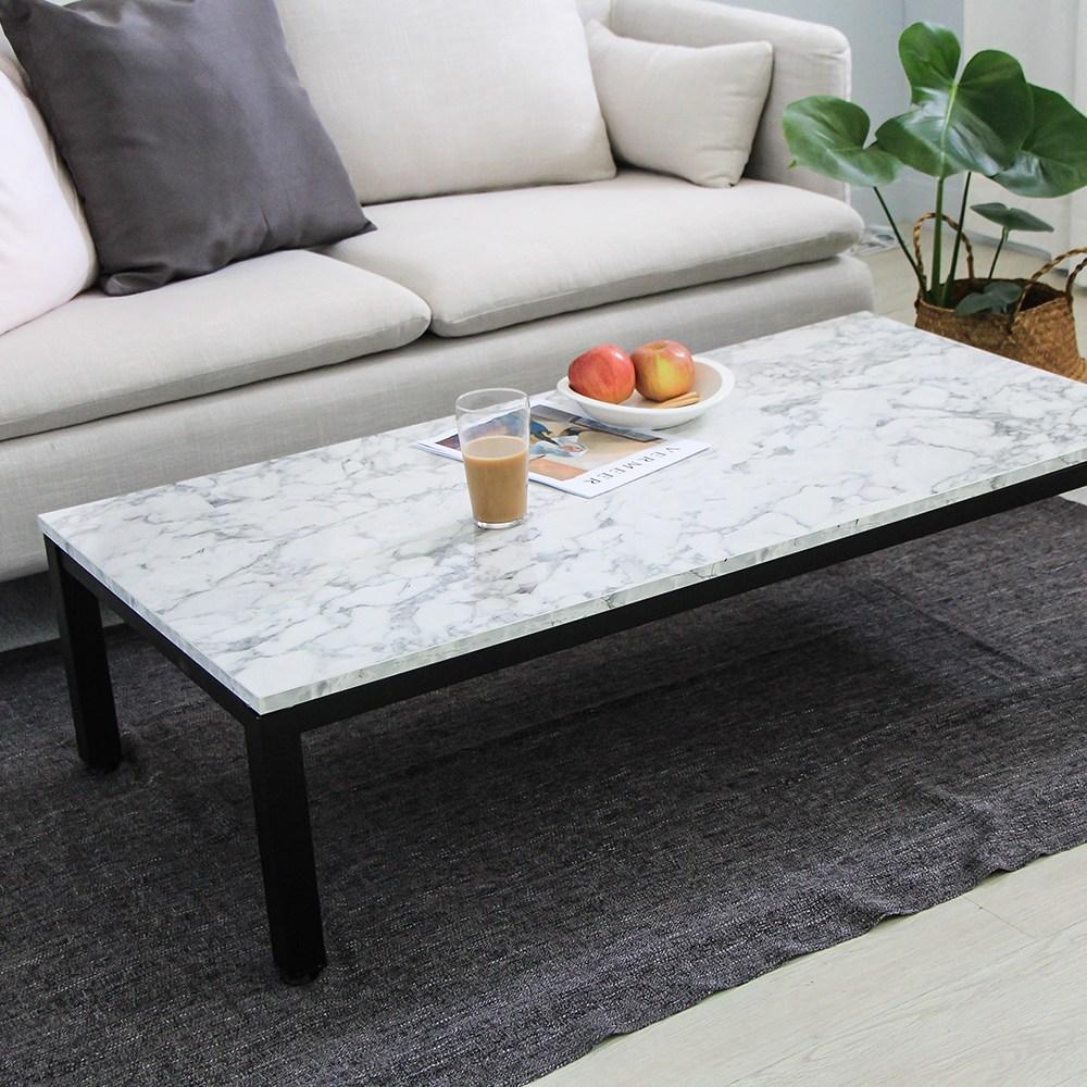 서광퍼니처 엘리엇 스틸 1200 좌식 테이블 소파, 비앙코마블