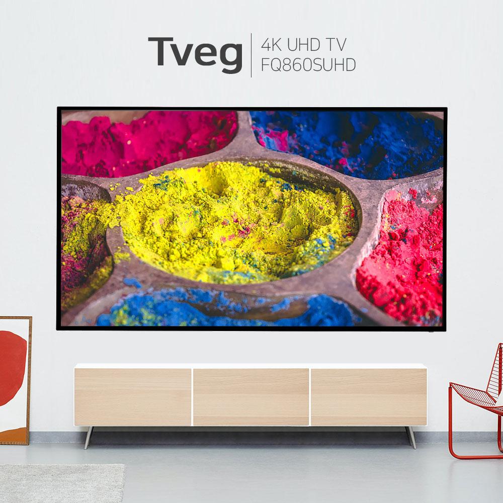 86인치 TV 4K UHD HDR 티비 대기업패널 가정용 업소용 86FQ8600SUHD, 기본 스탠드형(기사설치)