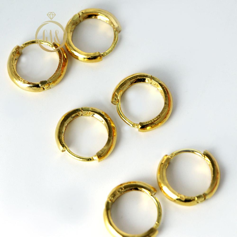 [가앤]24K 순금 귀걸이 기본 원터치 3.75g