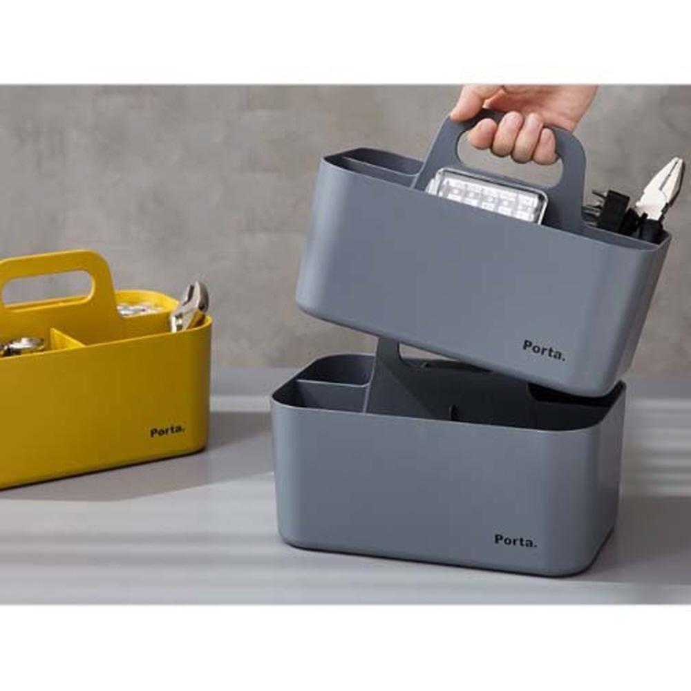 사무실필수템 적층식 데스크테리어 책상정리함 서랍칸막이 다이소리빙, 컴팩트-민트