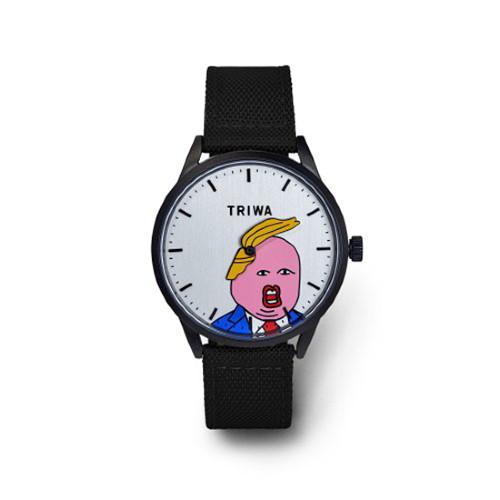 [TRIWA] 트리바 콤오버 워치 블랙 (트럼프 시계)
