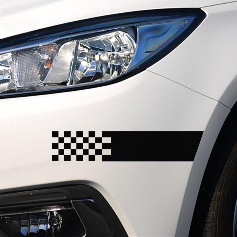 차량용 흠집가림 자동차 스크래치 상처밴드, 1개, 블랙(대형)