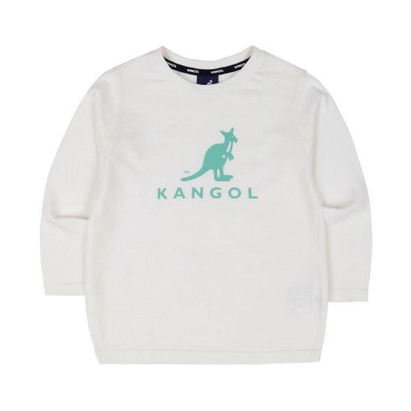 [갤러리아] 캉골키즈빅 로고 티셔츠 0102 오프 화이트 AMCCRT01020OW