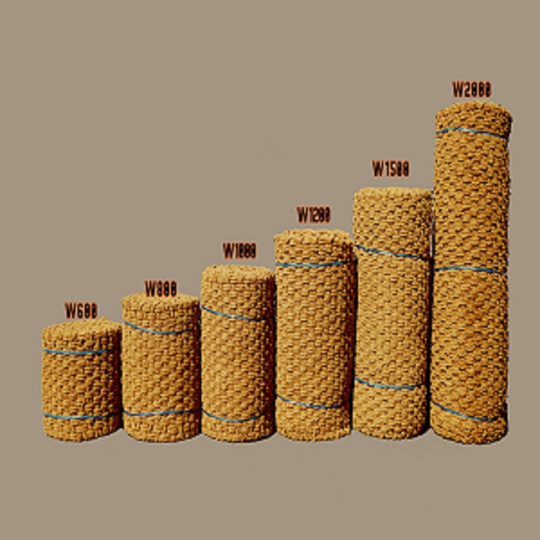 평창동계올림픽 납품 1.0m x 5m 35T 야자매트 이중합사 사용