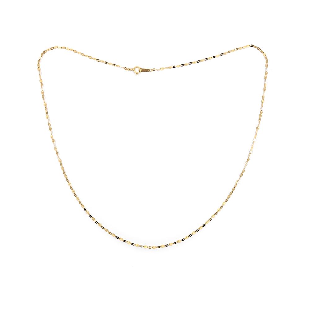 올주얼리 14K 옐로우골드 금 체인 줄 목걸이 (4 type)