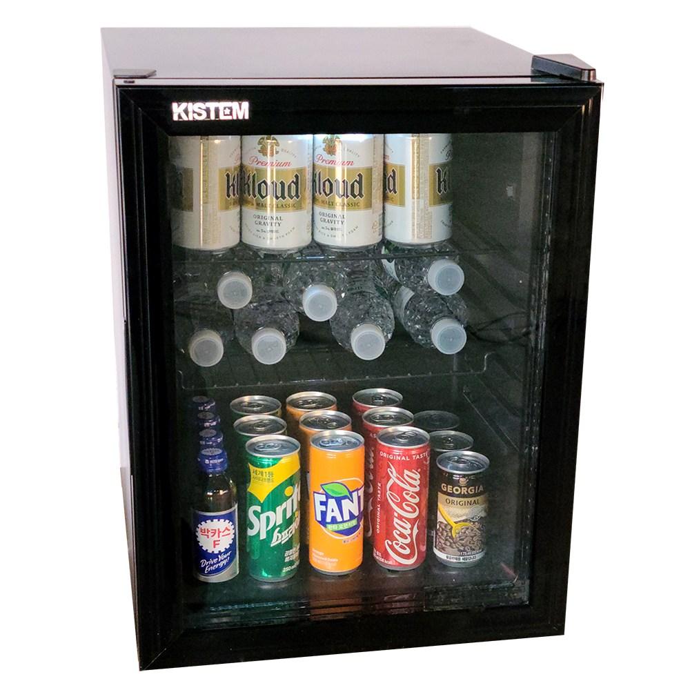 소형 음료수냉장고 미니 쇼케이스 KDS35R 35리터 사무실 개업 선물 (POP 4632126690)