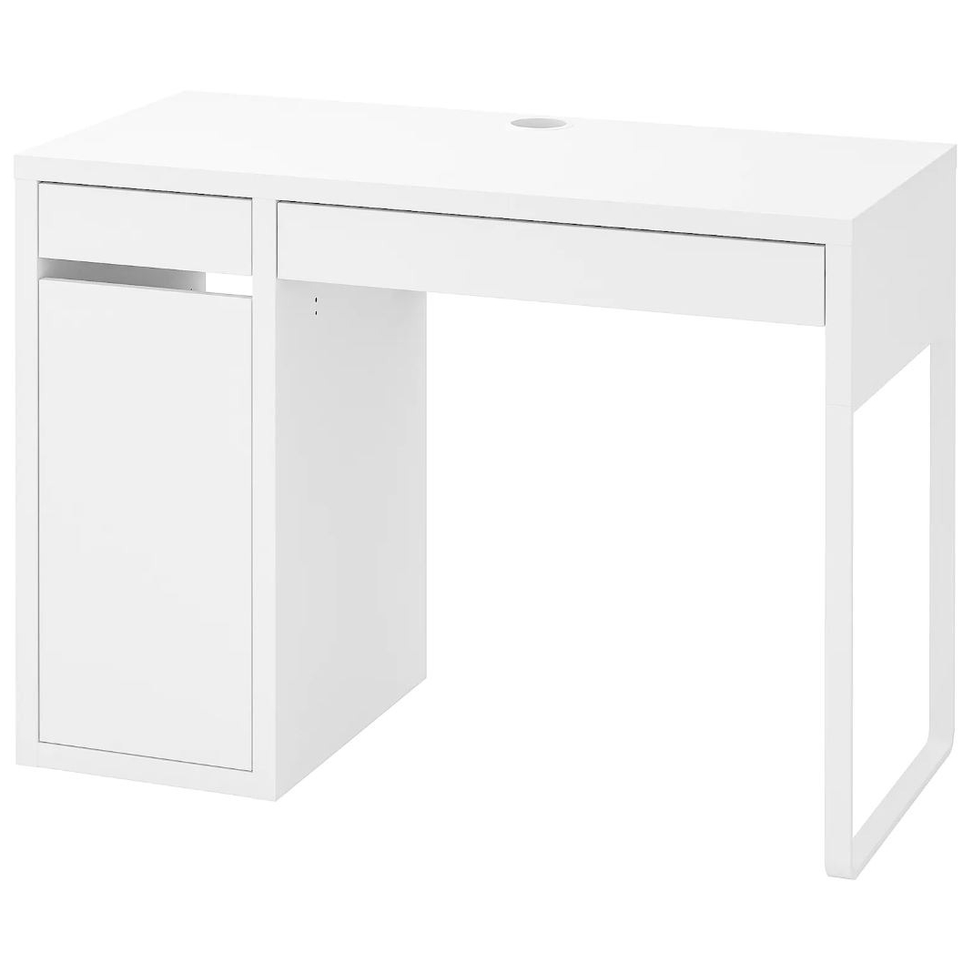 이케아 MICKE 미케 책상 화이트 105x50 cm, 조립외 제품 서비스 동영상 별도 제공
