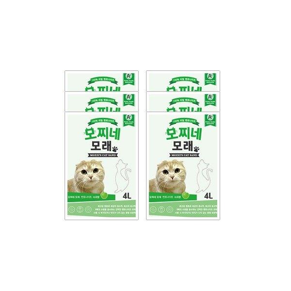 [모찌네모래] 4L 사과향 (1BOX)_무배