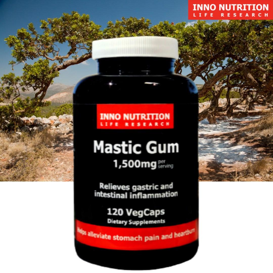 매스틱 1500mg 120정 매스틱검 mastic gum 이노뉴트리션 캐나다 직구, 3병, 120캡슐