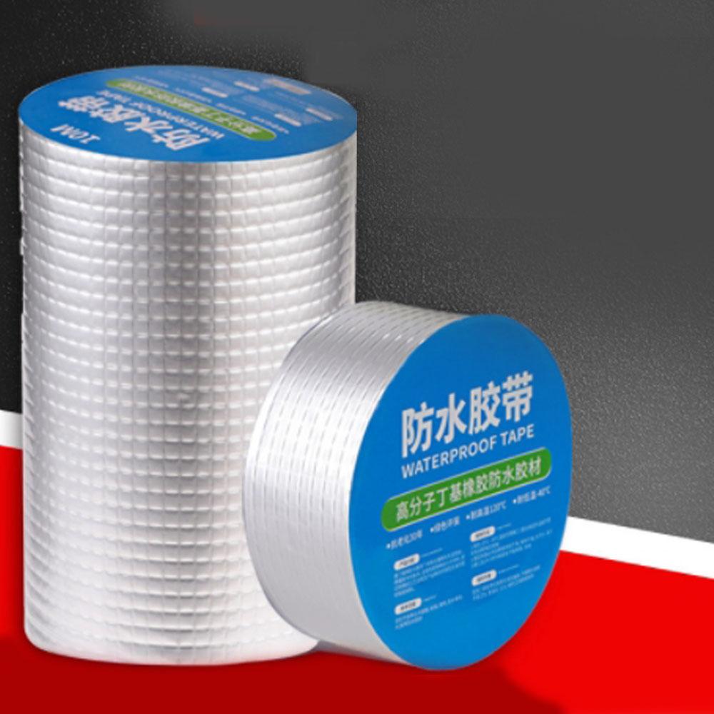 라이프시트 강력 부틸 방수테이프 욕실 지붕 바닥 창틀 배관 누수 균열 보수테이프 방수테잎, 폭 5cm* 길이 5M