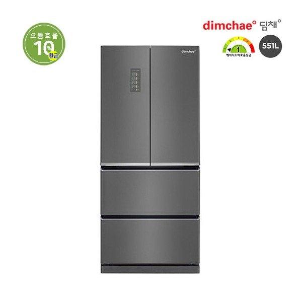 [딤채] [551L] 위니아 4룸 스탠드형 쿼츠다크실버 (LDQ57DHRZK), 형태:사은품 냉장고-3-319862394