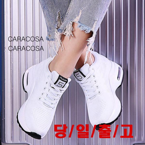 CARACOSA 9cm 앞끈라인 에어창 키높이 스니커즈키높이 운동화 07-33 7cm강북오빠 아메리칸 G오이사 9CM 여성 키