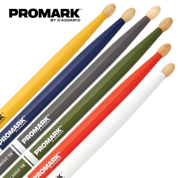 프로마크 페인트스틱 클래식 히코리 우드팁 5A, 그레이
