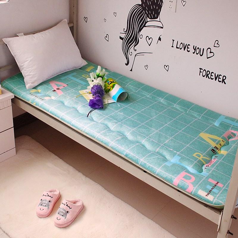토퍼 템퍼 매트리스 침구 기타 싱글 학생 기숙사 털 퍼 다운 침대 요, AI_90 x 190