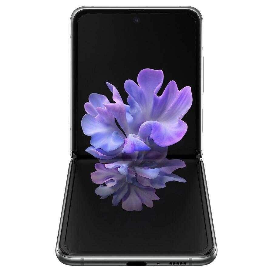 새로운 원래 삼성 갤럭시 Z 플립 5G 스마트 폰 8 기가 바이트 256 기가 바이트 6.7