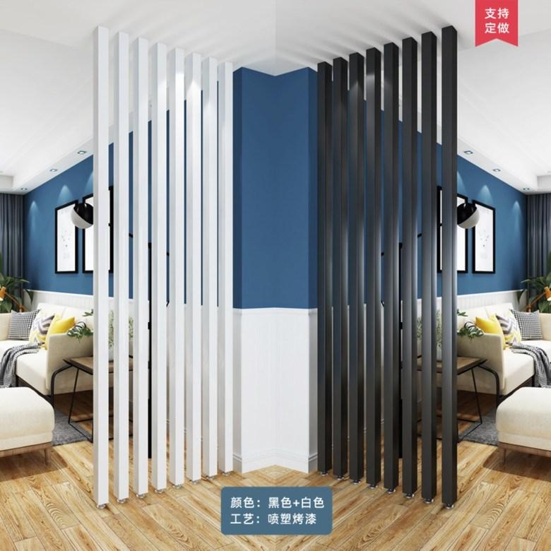 철제 인테리어 가벽 파티션 현관 주방 셀프가벽만들기 5컬러, 1-49cm흑백단일가격네시작