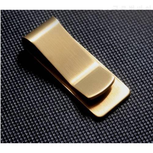 브랜드 새로운 최고급 금관 악기 지갑 금속 돈 클립 종이 클립 클립 변경 클, 상세내용참조