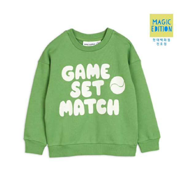 [현대백화점][미니로디니] 게임그린맨투맨 2022015375 Game sweatshirt 아동 선물 유아 조카 여아 남아 수