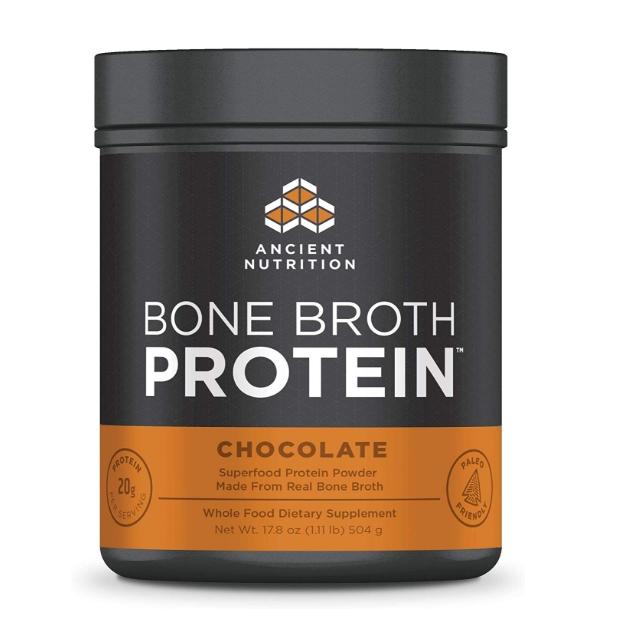 [이라운드몰]에이션트 뉴트리션 본 브로스 단백질 프로틴 파우더 초코맛 504g, 옵션선택, 초콜렛