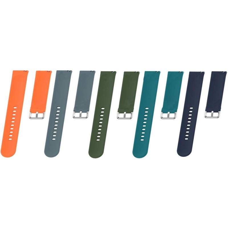 아마즈핏 비프 워치 밴드로 호환되는 초핏 교체 밴드 삼성 갤럭시 워치 액티브 2 40/44mm 스마트워치(멀, 1, 단일상품