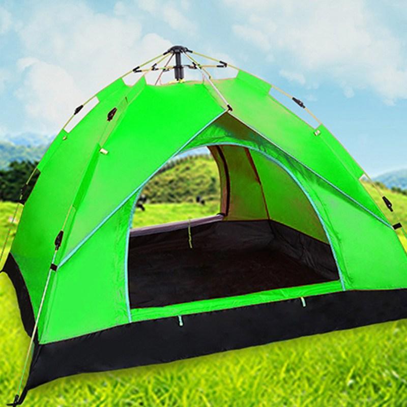 설치가쉬운 대형 원터치 우산형 방수 그늘막 2인용 3인용 4인용 캠핑 차박 패밀리 텐트 (POP 5175388773)