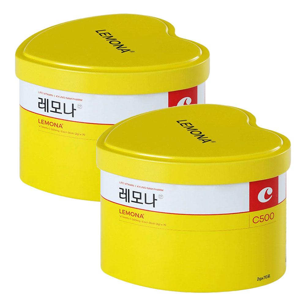 경남제약 레모나산(2g X 70포) X 2개-4-5314947020