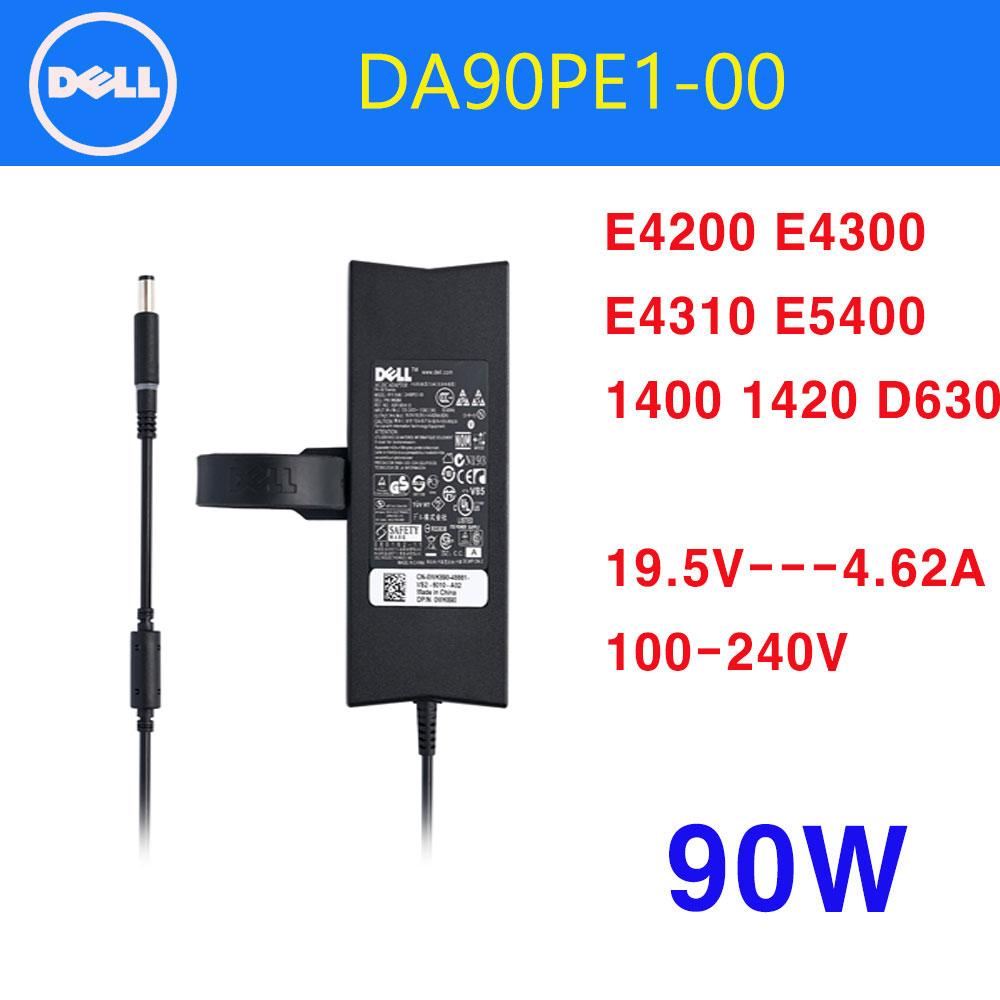 dell 델 노트북충전기어댑터 DA90PE1-00 ADP-90VH B (19.5V 4.62A 90W) WK890, 델 90W