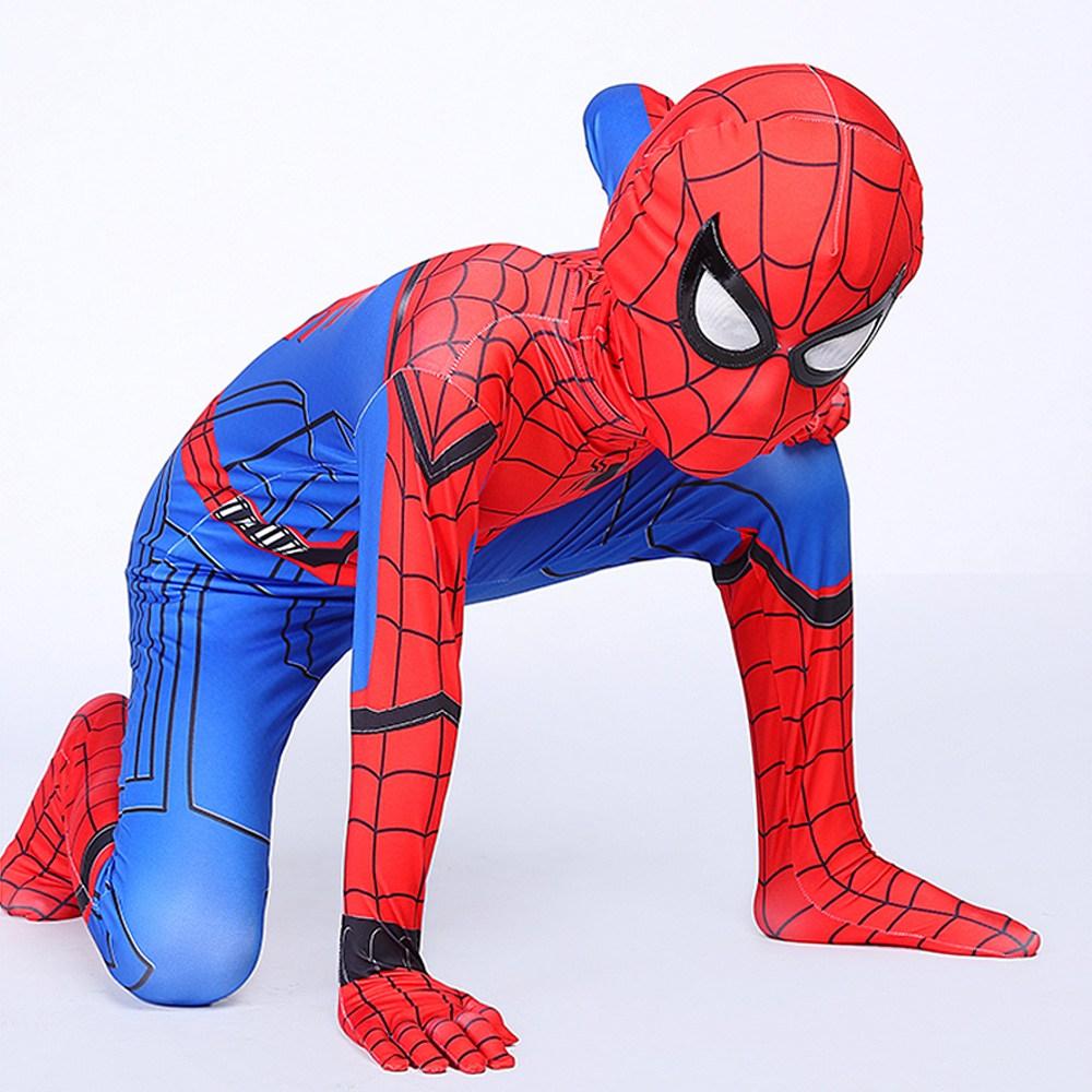 WG 스파이더맨 아동용 옷 파프롬홈 코스프레 코스튬 슈트 할로윈의상