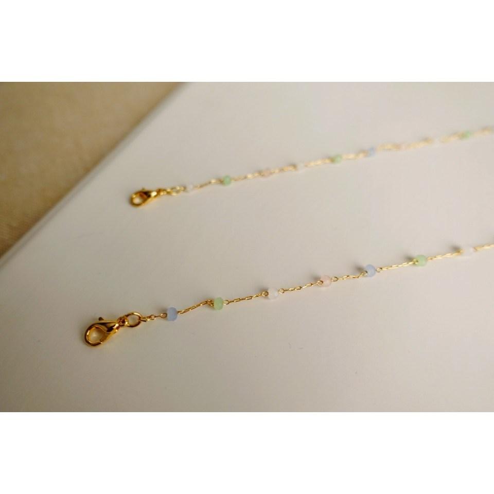 앨리스하우스 마스크목걸이 고급체인 패션마스크목걸이줄 분실방지 마스크스트랩