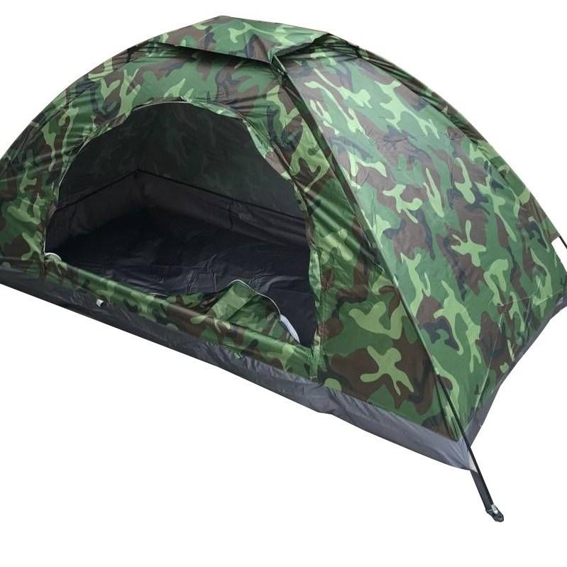 토파즈 IT0075 밀리터리 자동 텐트 캠핑 원터치 돔텐트 캠핑용품 해변 피크닉 간편 방수텐트 1인용, 1인용/200cm_100cm_100cm, 카키밀리터리