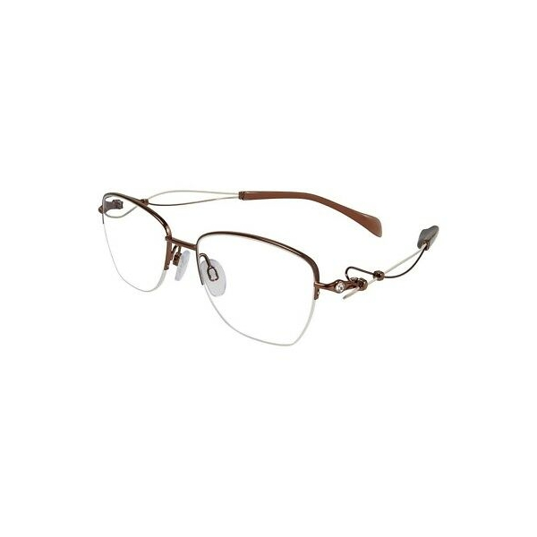 38712 / NEW Line Art XL 2097 Eyeglasses BR Brown 100% AUTHENTIC