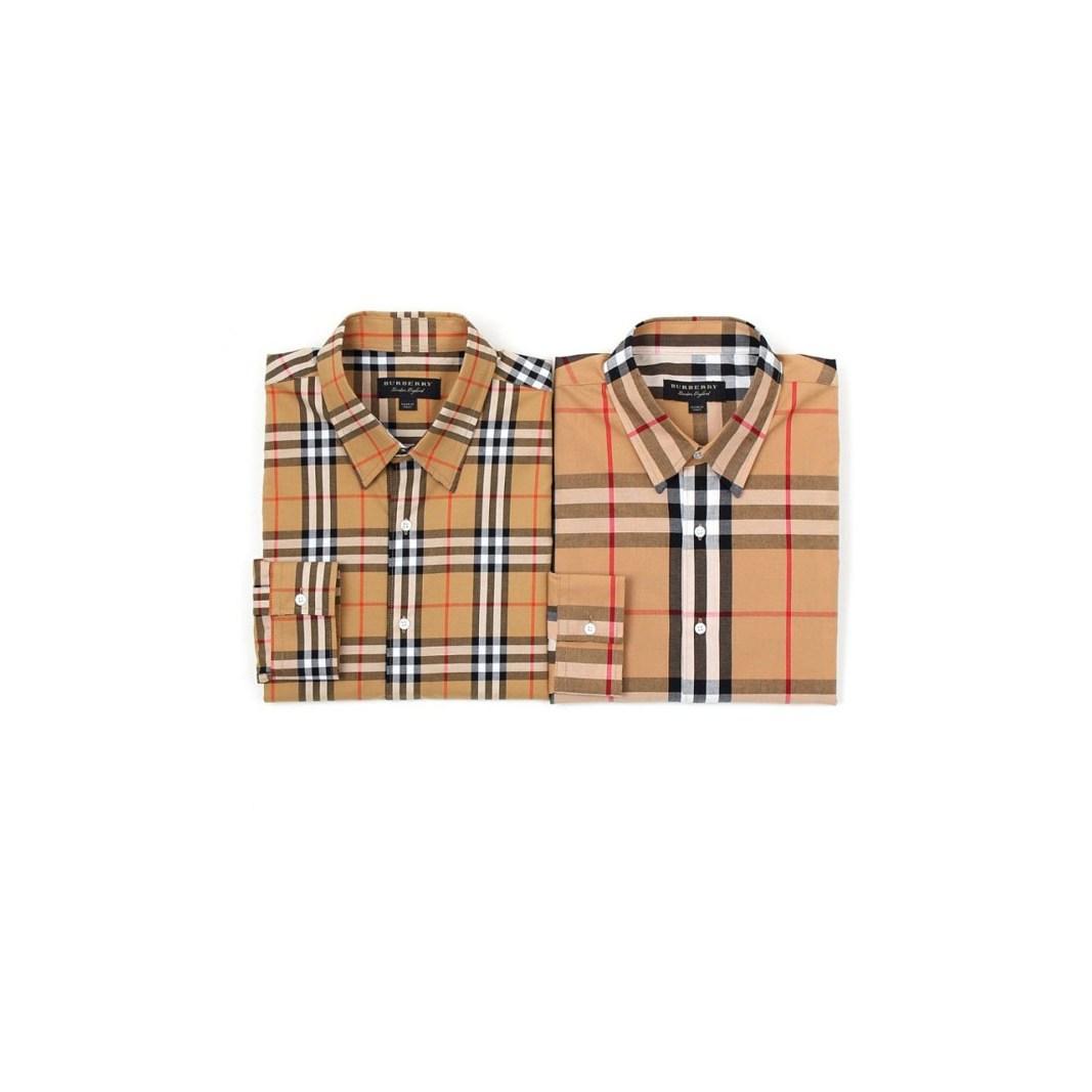 제이룸 버버리 체크 셔츠 2Color