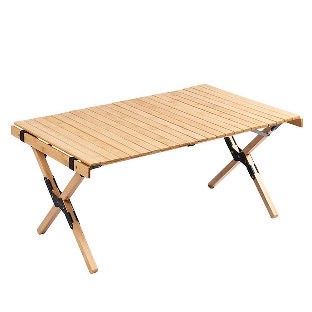 메이리앤 우드롤테이블 캠핑우드테이블 원목 롤 테이블, 01.소나무