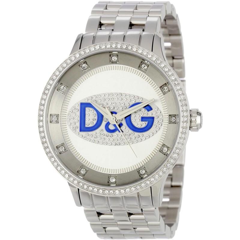 [독일 직배송] 돌체 앤 가바나 DW0133 남성 손목시계 스테인리스 스틸 브레이슬릿 컬러 실버