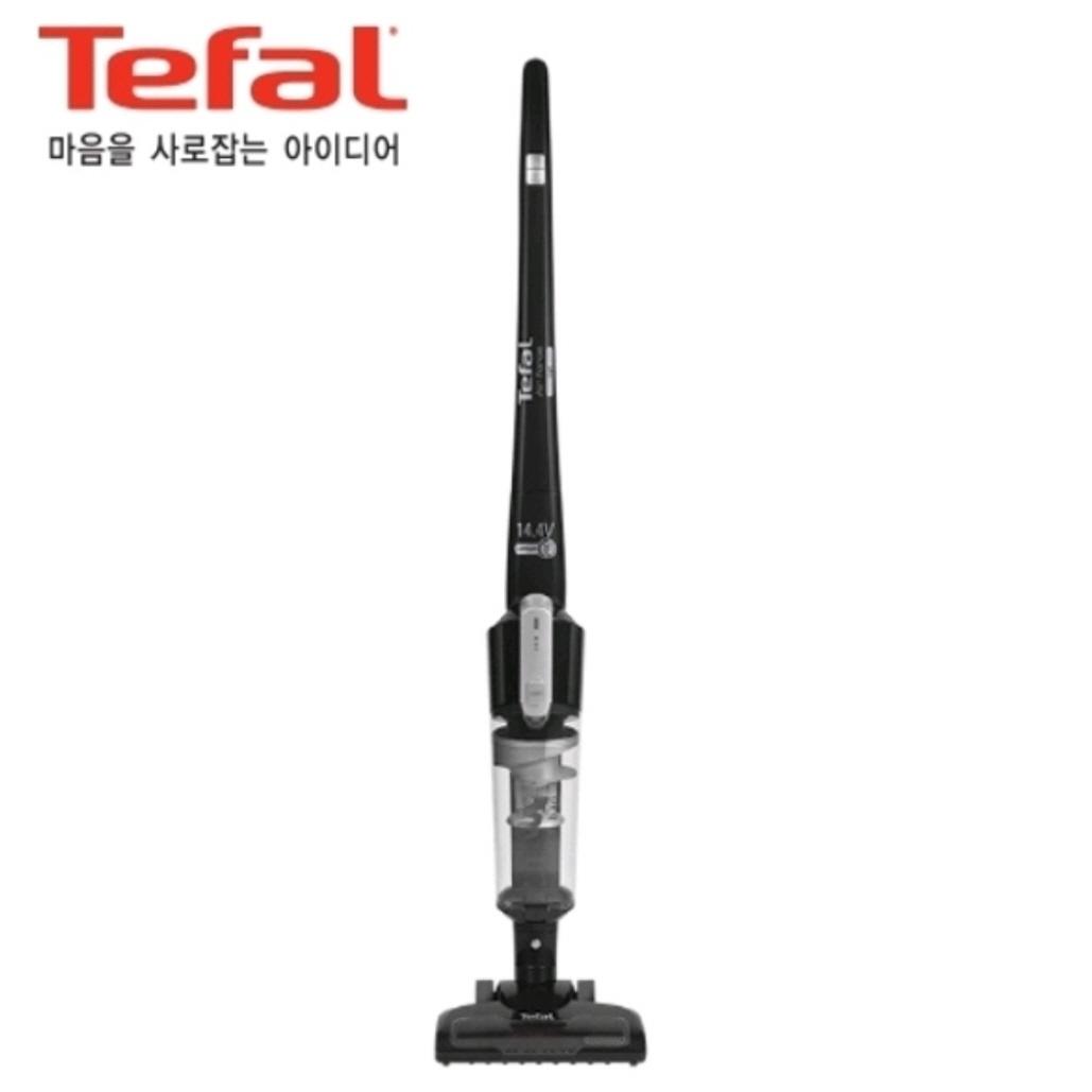 [테팔] 에어포스 라이트 TY6543KL 싸이클론 핸디 스틱청소기 진공청소기, 블랙