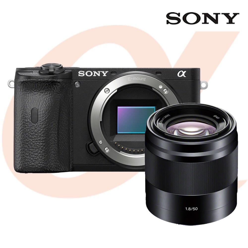 소니 알파 A6600 (본체+E 50mm F1.8 렌즈) 공식대리점 미러리스카메라, A6600+SEL50F18(블랙)