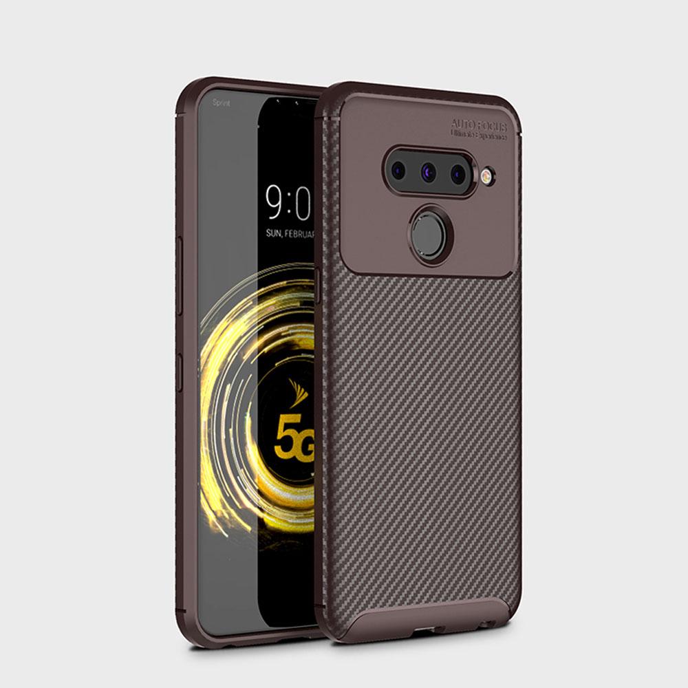 우꾸모 lg v40 thinq 엘지 v40케이스 lgv40 슬림 실리콘 케이스 AC1164 휴대폰