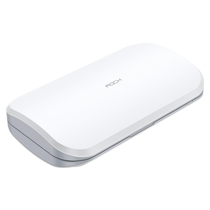 스마트폰 코로나 마스크 살균기 휴대용 미니 작은 UV 자외선 살균 가정용 소독 살균, 라이트 그레이