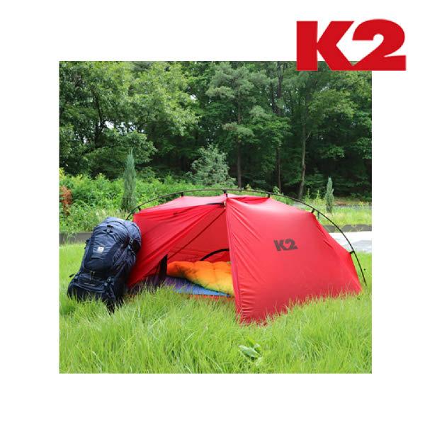 [현대백화점]K2 케이투 백패킹용 초경량(1.23kg) 텐트 KMA19A01 ROCKY POP, 레드(R2)/FREE, 없음