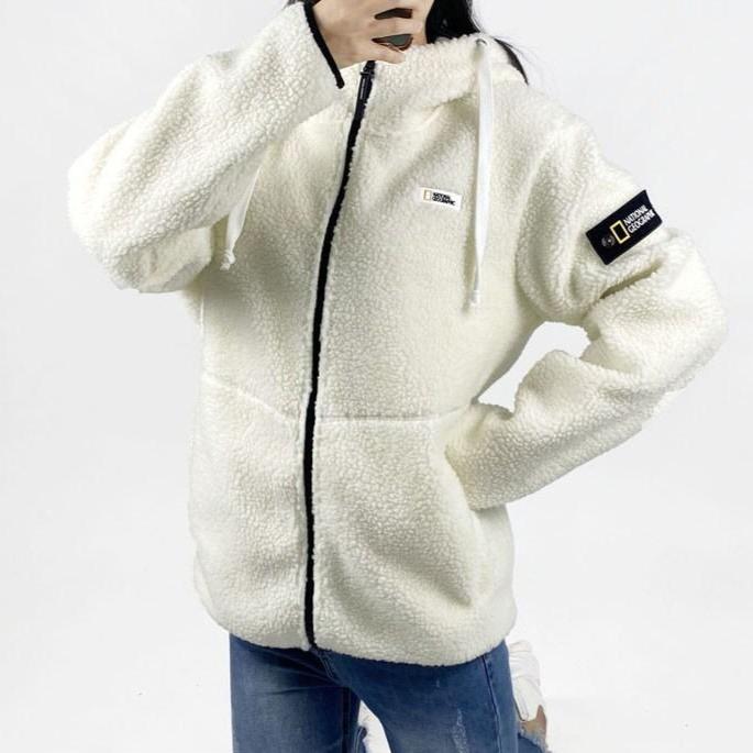 내셔널지오그래픽 L6 뽀글이 양털 후리스 겨울신상