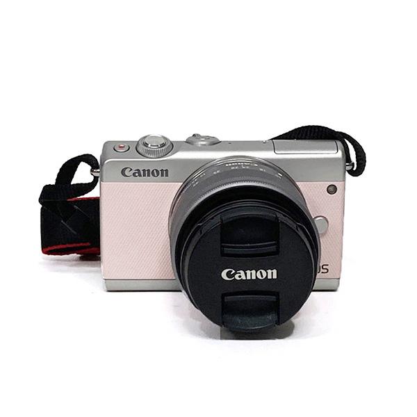 (대전중고카메라) 캐논 미러리스 EOS M100 15-45mm 핑크 에디션