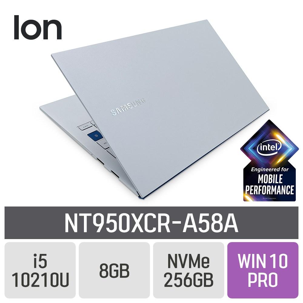 삼성 갤럭시북 이온 NT950XCR-A58A, 8GB, SSD 256GB, 포함