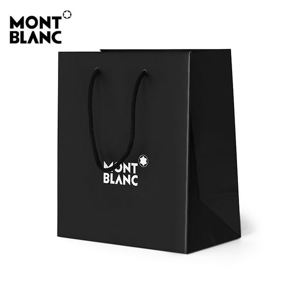 명품 MONTBLANC 몽블랑 선물용 정품 블랙 쇼핑백