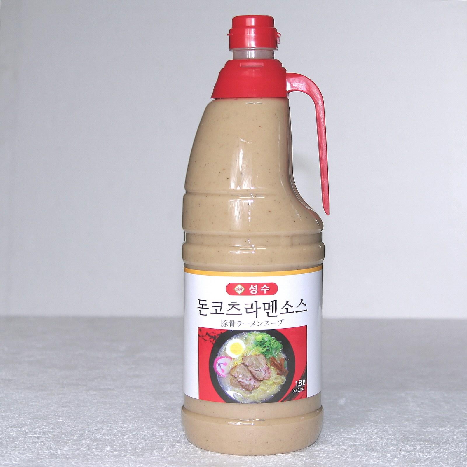 성수 성수돈코츠라멘소스 돈코츠라면스프 2kg 론칭기념특가, 1개, 1800ml