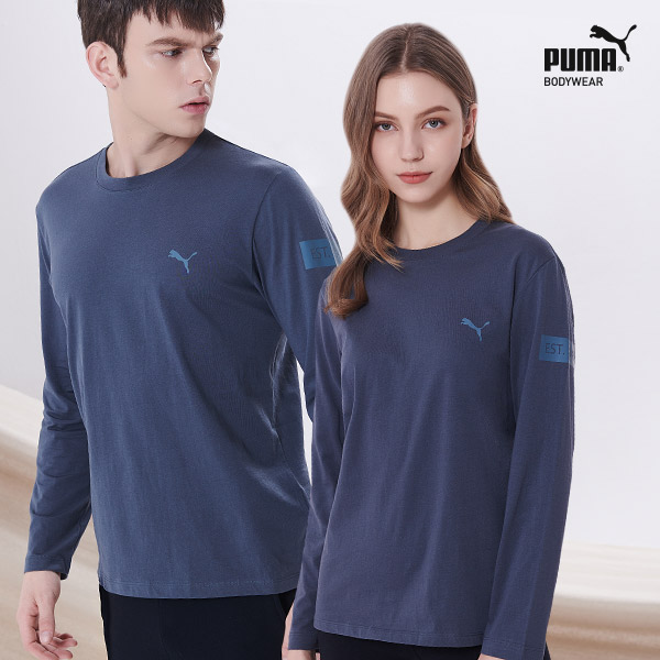 [TOP] 푸마 무형광 코튼 언더셔츠 1종 블루그레이
