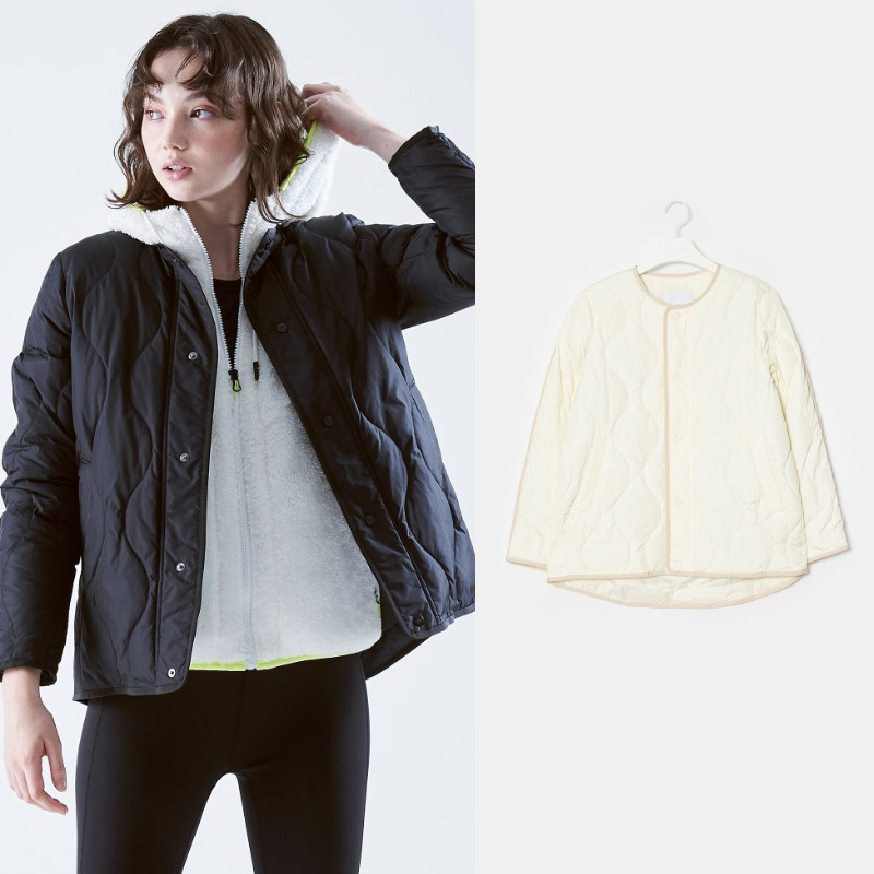 빈폴스포츠 여성 퀼팅 패딩 재킷 2종택1