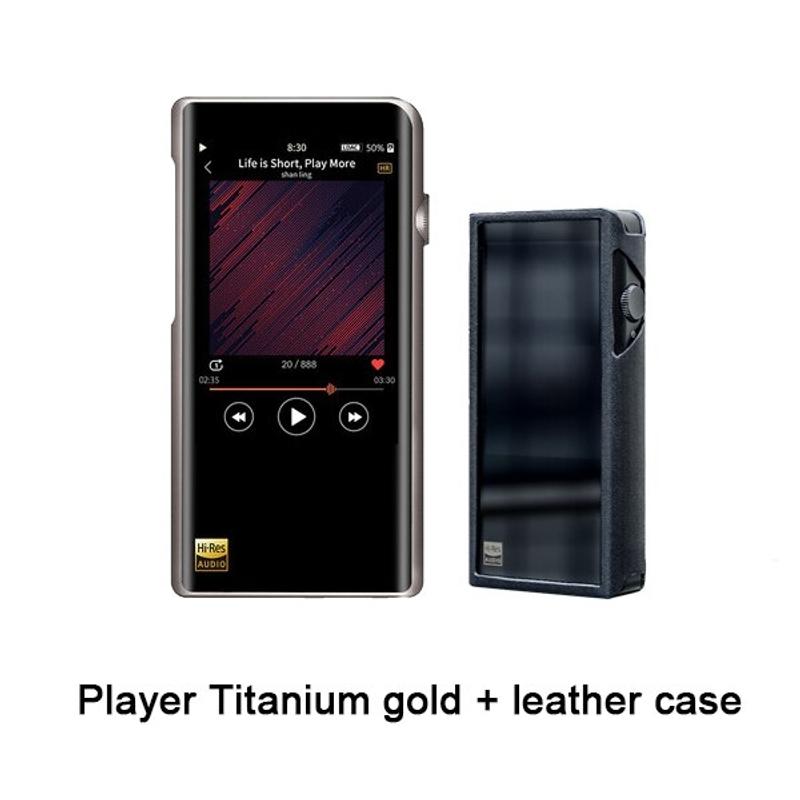 MP3 SHANLING M5s 새로운 Hifi 디지털 음악 Mp3 플레이어 블루투스 고해상도 무손실 DAC Mp3 Flac DSD256 Mp 3 | 하이파이 플레이어 | -, 기타, 플레이어 가죽 케이스